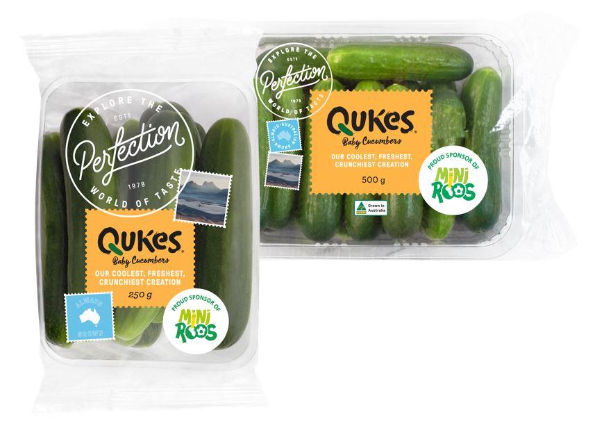 Qukes baby cucumbers